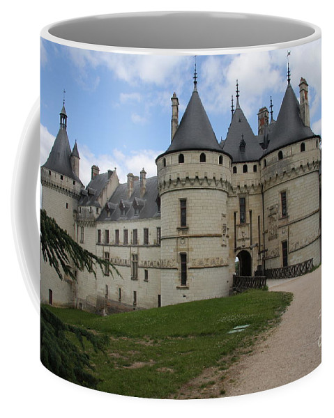 Palace Coffee Mug featuring the photograph Chateau Chaumont Steeples by Christiane Schulze Art And Photography