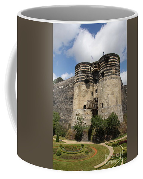 Castle Coffee Mug featuring the photograph Chateau D'angers - France by Christiane Schulze Art And Photography