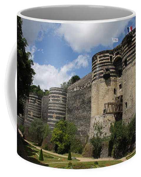 Castle Coffee Mug featuring the photograph Chateau D'angers - The Keep by Christiane Schulze Art And Photography