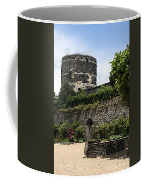 Castle Coffee Mug featuring the photograph Chateau D'angers Tower by Christiane Schulze Art And Photography