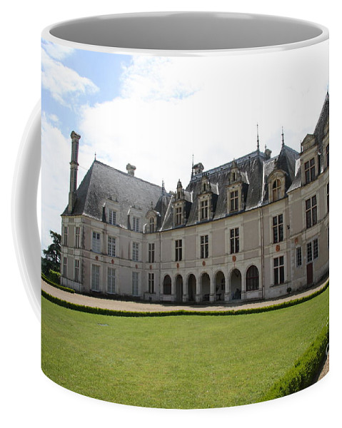 Palace Coffee Mug featuring the photograph Chateau De Beauregard Loire Valley by Christiane Schulze Art And Photography
