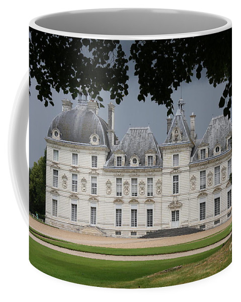 Palace Coffee Mug featuring the photograph Chateau De Cheverny - France by Christiane Schulze Art And Photography