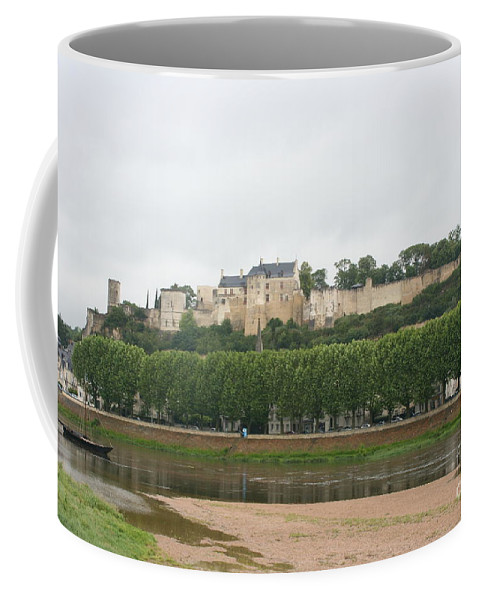 Castle Coffee Mug featuring the photograph Chateau De Chinon - France by Christiane Schulze Art And Photography