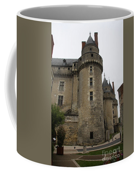Castle Coffee Mug featuring the photograph Chateau de Langeais - France by Christiane Schulze Art And Photography