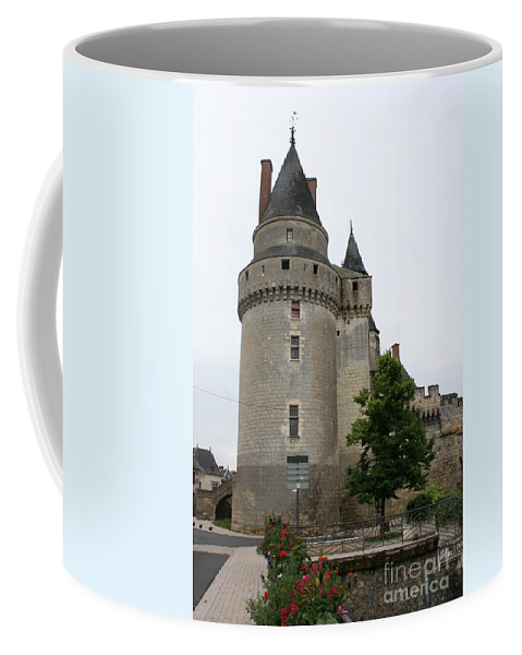 Castle Coffee Mug featuring the photograph Chateau De Langeais Tower by Christiane Schulze Art And Photography