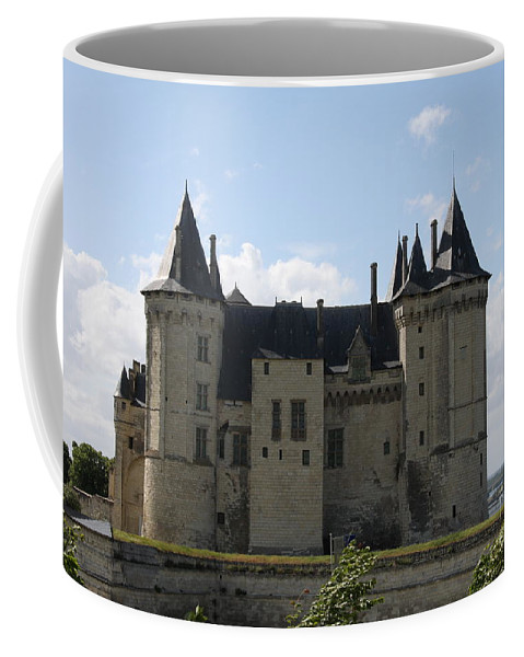 Castle Coffee Mug featuring the photograph Chateau Saumur - France by Christiane Schulze Art And Photography