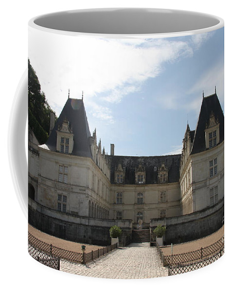 Palace Coffee Mug featuring the photograph Chateau Villandry by Christiane Schulze Art And Photography