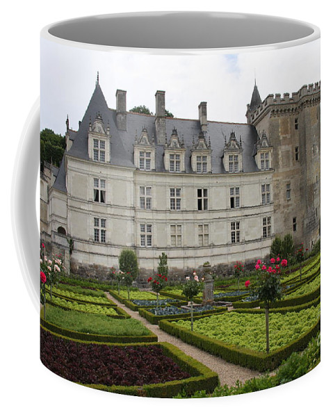 Salad Coffee Mug featuring the photograph Chateau Villandry - Usefulness And Ornament by Christiane Schulze Art And Photography