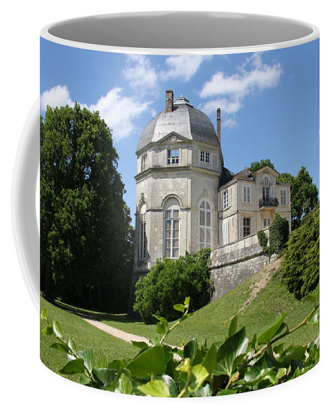 Castle Coffee Mug featuring the photograph Chateauneuf-sur-loire by Christiane Schulze Art And Photography
