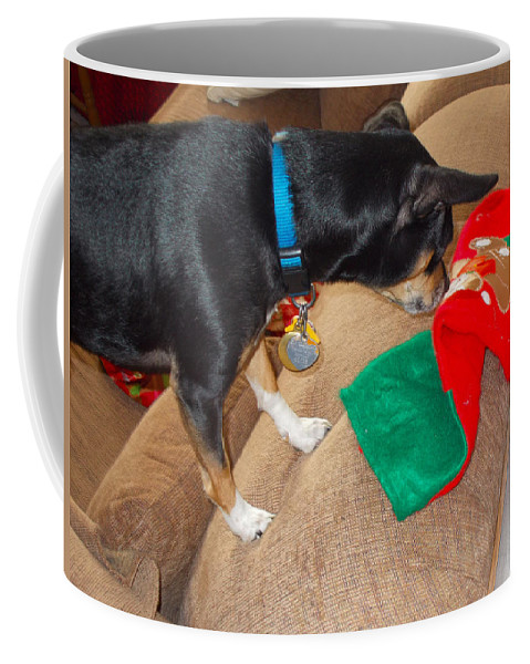 Coffee Mug featuring the photograph Looking For His Gifts by Chris W Photography AKA Christian Wilson