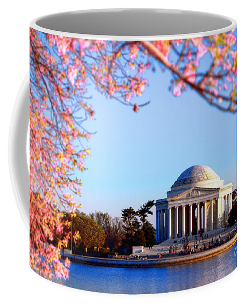 Jefferson Coffee Mug featuring the photograph Cherry Jefferson by Olivier Le Queinec