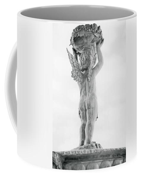 Cherub Coffee Mug featuring the photograph Cherub Lifting by Melinda Ledsome