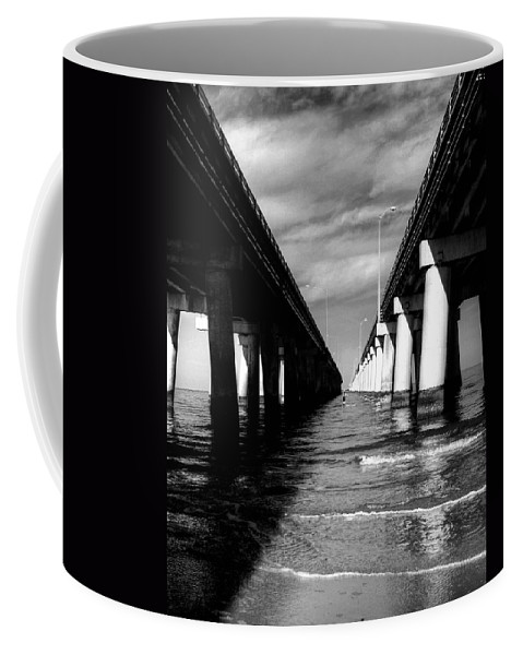 Architectural Coffee Mug featuring the photograph Chesapeake Bay Bridge II by Pete Federico
