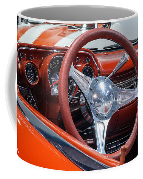 Chevrolet Bel Air Coffee Mug featuring the photograph Chevrolet Bel Air by George Buxbaum
