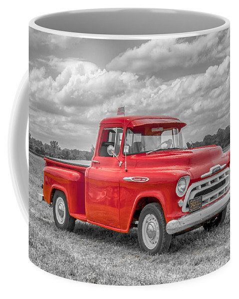 Automobile Coffee Mug featuring the photograph Chevy 3100  7d05235 by Guy Whiteley