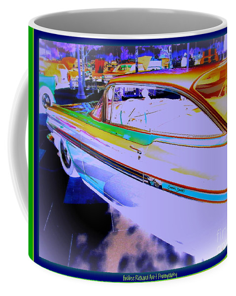 Chevy Coffee Mug featuring the photograph Chevy Psycho Delic by Bobbee Rickard