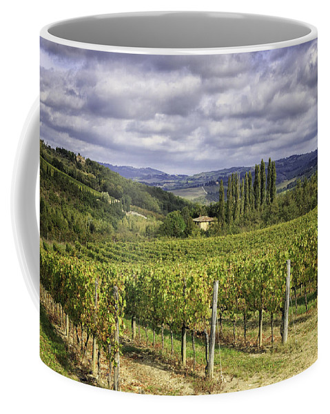 Chianti Coffee Mug featuring the photograph Chianti Country by Fran Gallogly