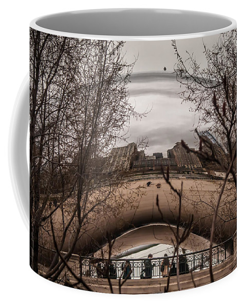 Architecture Coffee Mug featuring the photograph Chicago Architecture by Alex Grichenko