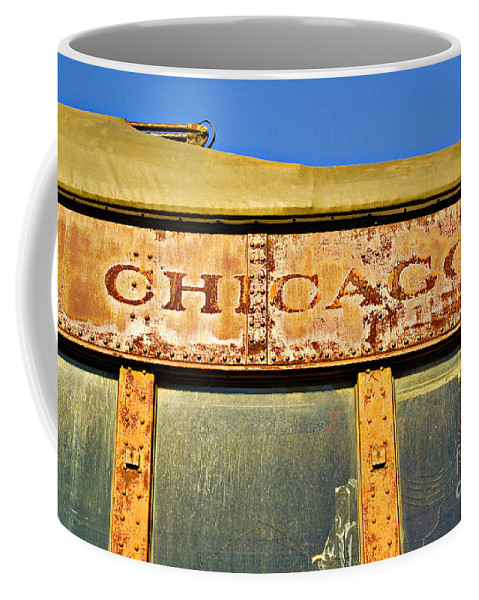 Elkhart Coffee Mug featuring the photograph Chicago by Gary Richards
