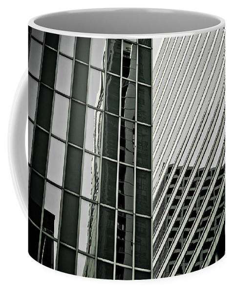 Chicago Coffee Mug featuring the photograph Chicago Lines by Anthony Doudt