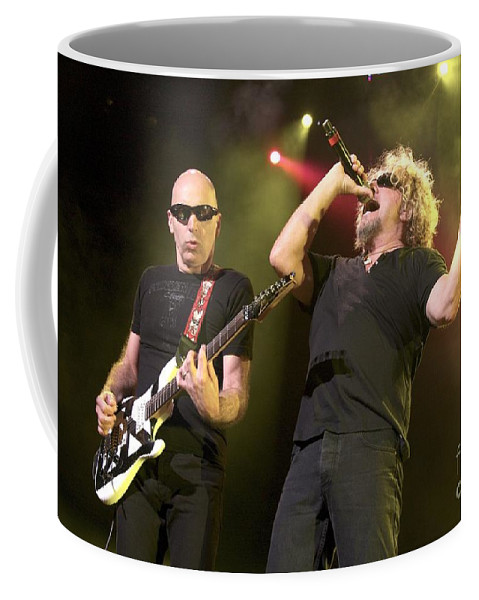 Concert Coffee Mug featuring the photograph Chickenfoot by Concert Photos