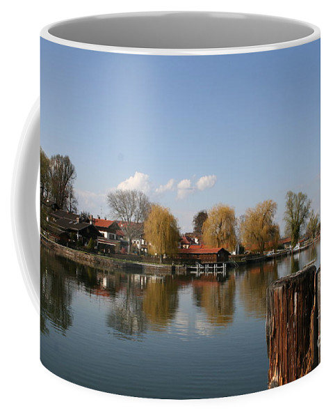Lake Coffee Mug featuring the photograph Chiemsee - Germany by Christiane Schulze Art And Photography