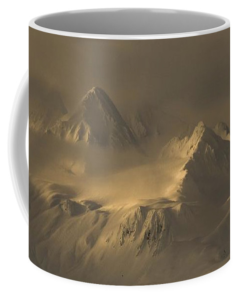 Landscapes Coffee Mug featuring the photograph Chilkat Range by Scott Wickward