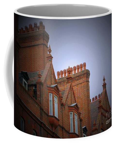 London Coffee Mug featuring the photograph Chimney Pots by Ann Horn