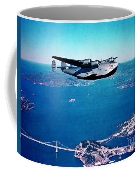 U.s.pd Coffee Mug featuring the photograph China Clipper by Pg Reproductions
