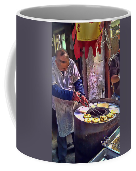 China Coffee Mug featuring the photograph Chinese Market 2 by Cathy Anderson