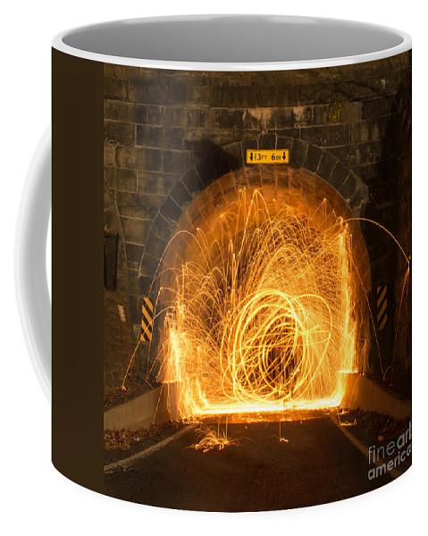 North America Coffee Mug featuring the photograph Choas Tunnel by Brandon Hirt