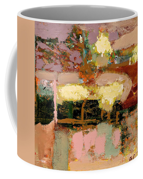 Landscape Coffee Mug featuring the painting Chopped Liver by Allan P Friedlander