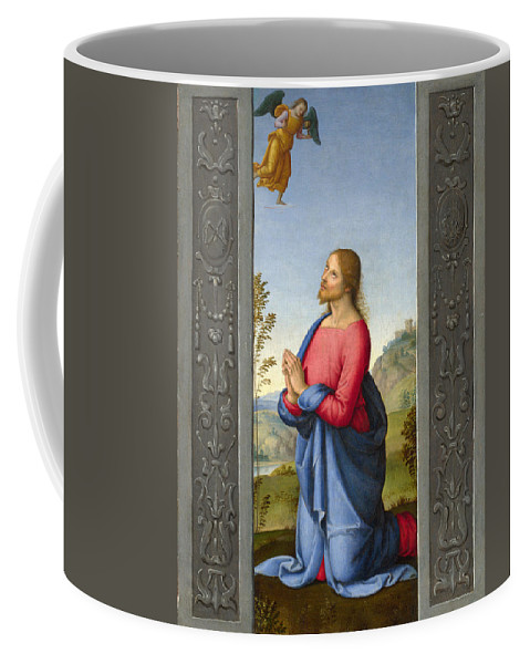 Lo Spagna Coffee Mug featuring the painting Christ At Gethsemane by Lo Spagna