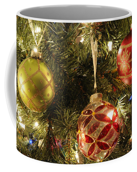 Tree Coffee Mug featuring the photograph Christmas Cheer by Luke Moore
