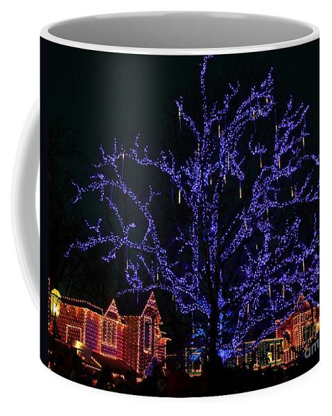 Christmas Lights Coffee Mug featuring the photograph Christmas Lights by Elizabeth Winter