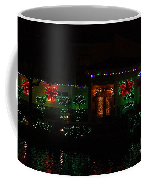 East Lake Coffee Mug featuring the photograph Christmas On East Lake 3 by Tommy Anderson