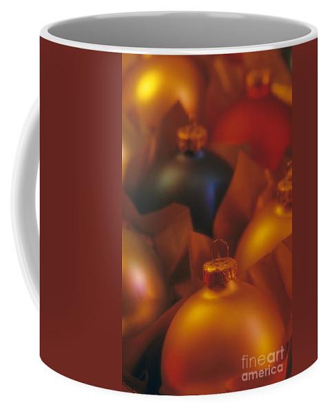 Christmas Coffee Mug featuring the photograph Christmas Ornaments by Jim Corwin