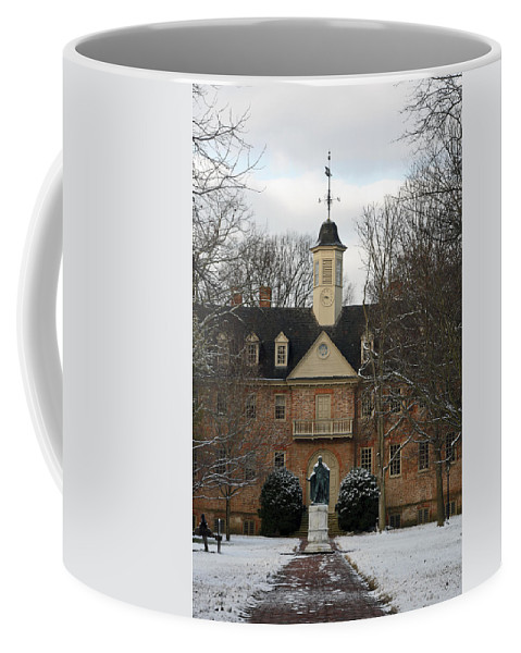 Christopher Wren Building Coffee Mug featuring the photograph Christopher Wren Building by Sally Weigand