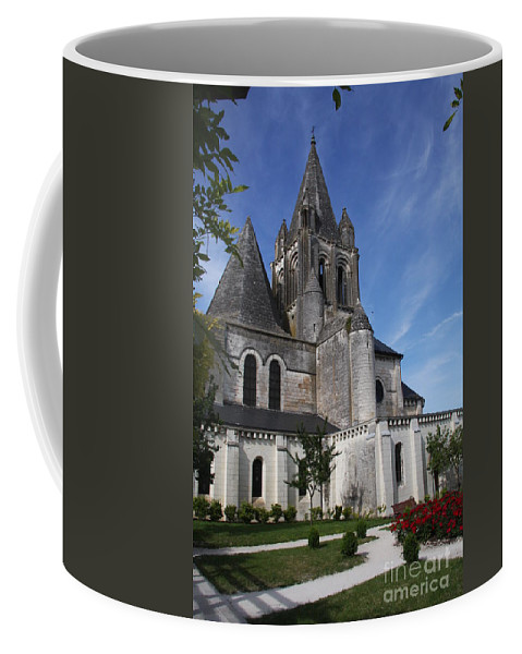 Church Coffee Mug featuring the photograph Church - Loches - France by Christiane Schulze Art And Photography