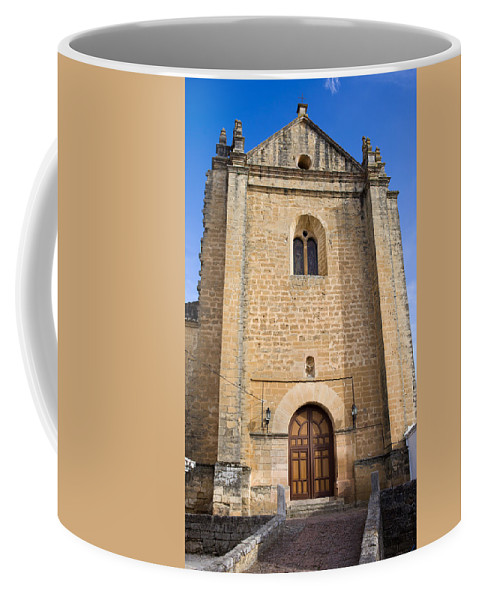 Ronda Coffee Mug featuring the photograph Church Of The Holy Spirit In Spain by Artur Bogacki