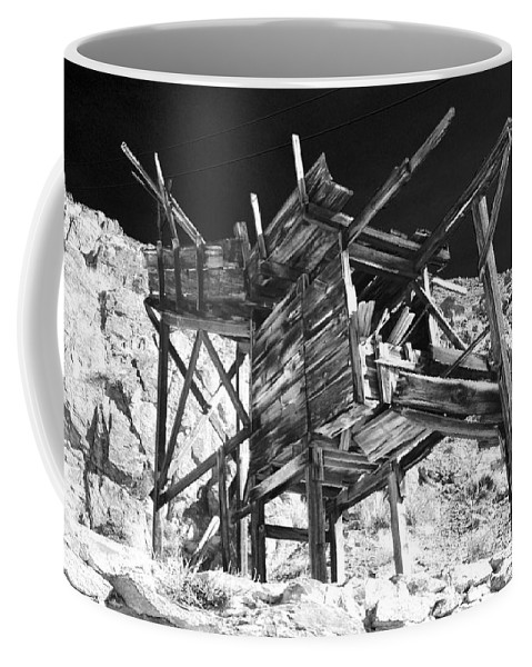 Black Coffee Mug featuring the photograph Chutes And Ladders by Cat Connor