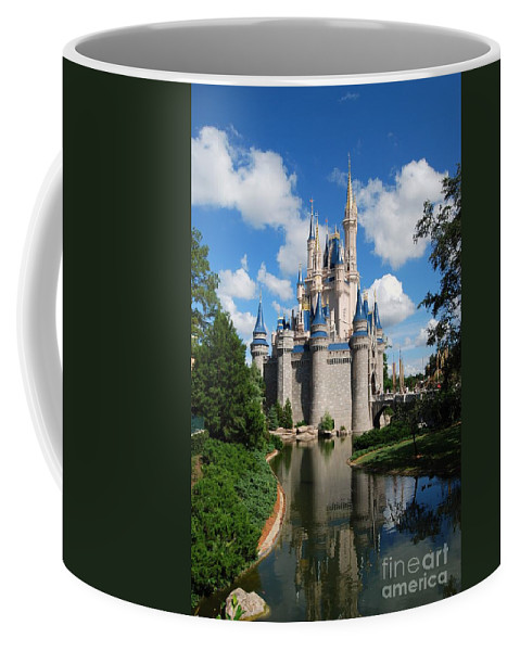 Cinderellas Castle Coffee Mug featuring the photograph Cinderellas Castle by Eric Liller