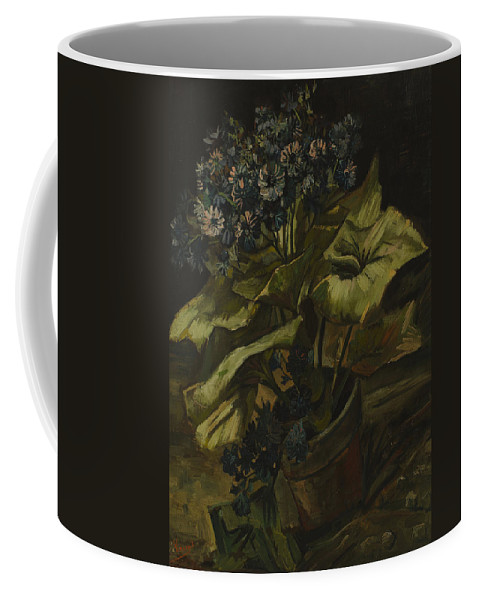 Vincent Van Gogh Coffee Mug featuring the painting Cineraria by Vincent Van Gogh