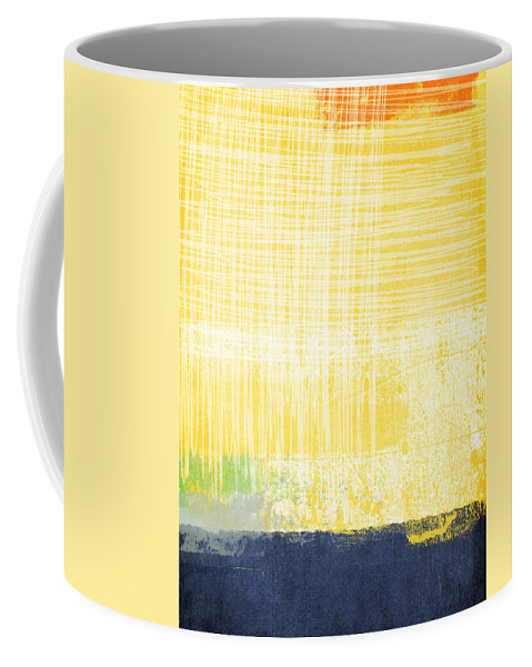 Abstract Painting Coffee Mug featuring the painting Circadian by Linda Woods