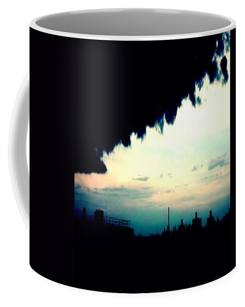 City Coffee Mug featuring the photograph City Silhouette by Paulo Guimaraes