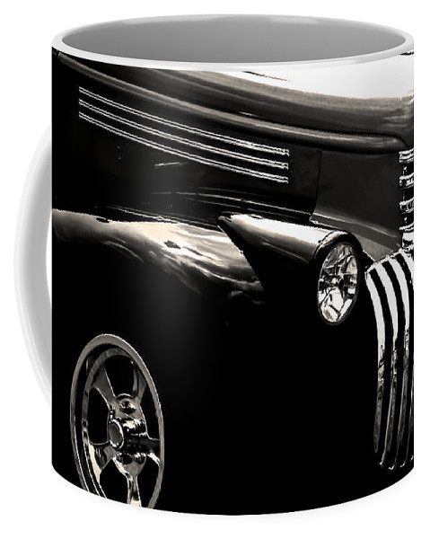 Optical Playground By Mp Ray Coffee Mug featuring the photograph Classic Chevy Truck by Optical Playground By MP Ray