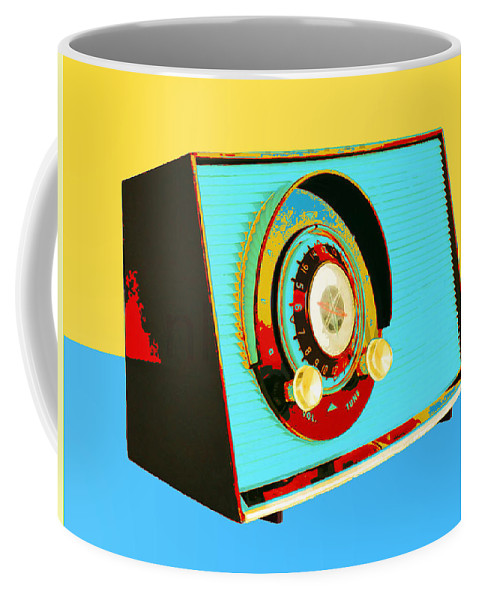 Transistor Radio Coffee Mug featuring the photograph Classic Rock by Dominic Piperata