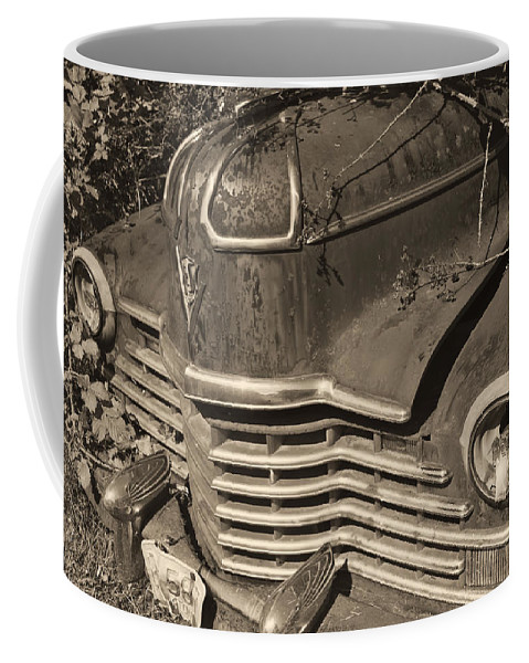 Coffee Mug featuring the photograph Classic Rust by Cathy Anderson