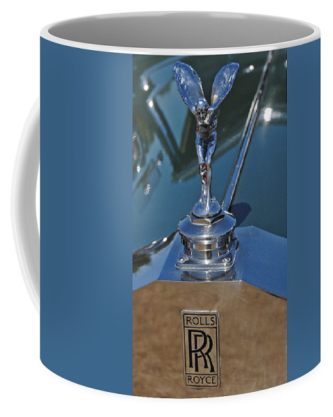 Rolls Coffee Mug featuring the photograph Classic by Skip Willits
