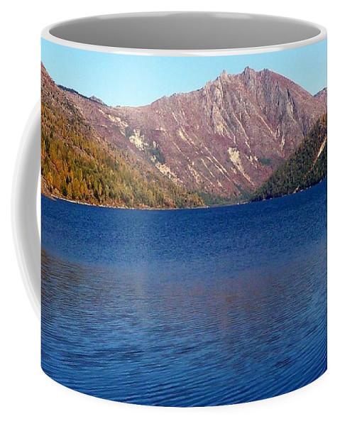 Clear Water Lake In Washington Coffee Mug featuring the photograph Clear Water Lake by Susan Garren